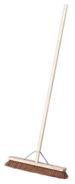 "Sealey - BM24S  Broom 24""(600mm) Soft Bristle"