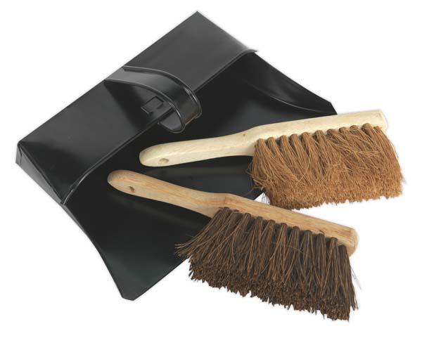 Sealey - BM26  Dustpan & Brushes Metal