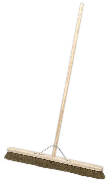 "Sealey - BM36S  Broom 36""(900mm) Soft Bristle"