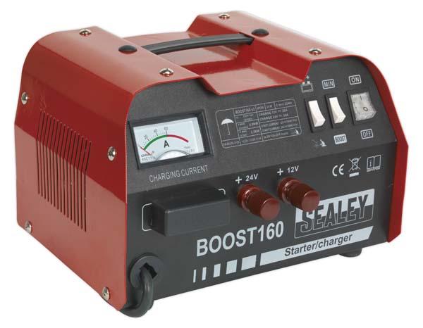 Sealey - BOOST160  Starter/Charger 160/30Amp 12/24V 230V