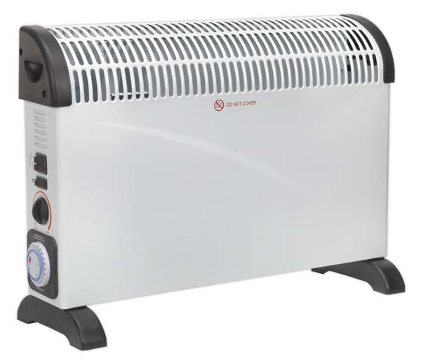 Sealey - CD2005TT  Convector Heater 2000W/230V with Turbo & Timer