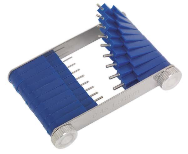Sealey - CJT01  Carburettor Jet Tool 0.45-1.5mm 20pc