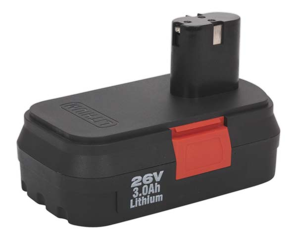 Sealey - CP2600BP  Power Tool Battery 26V 3Ah Li-ion for CP2600