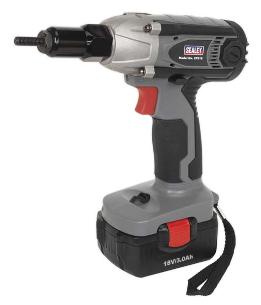 Sealey - CP315  Cordless Nut Riveter/Impact Driver 18V 3Ah Lithium-ion 1hr Charger