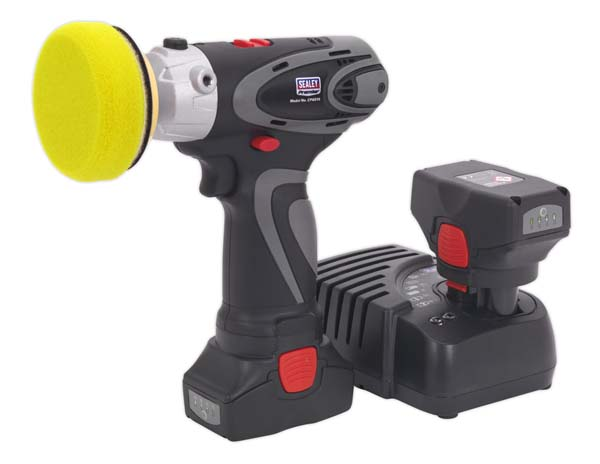 Sealey 14.4V Cordless Lithium-ion Variable Speed Polisher/Sander 75mm Combo