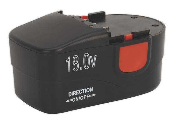 Sealey - CPG18VBP  Power Tool Battery 18V 1.7Ah Ni-MH for CPG18V