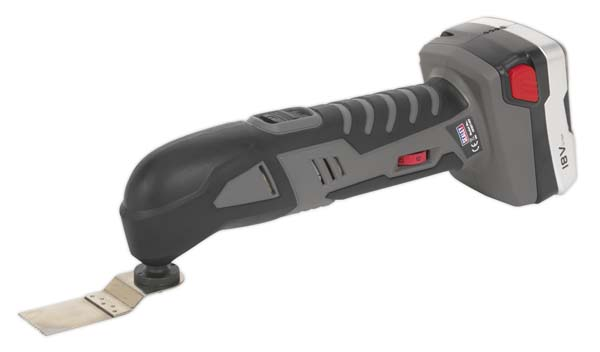 Sealey - CPMT18V  Cordless Lithium-ion Oscillating Multi-Tool 18V