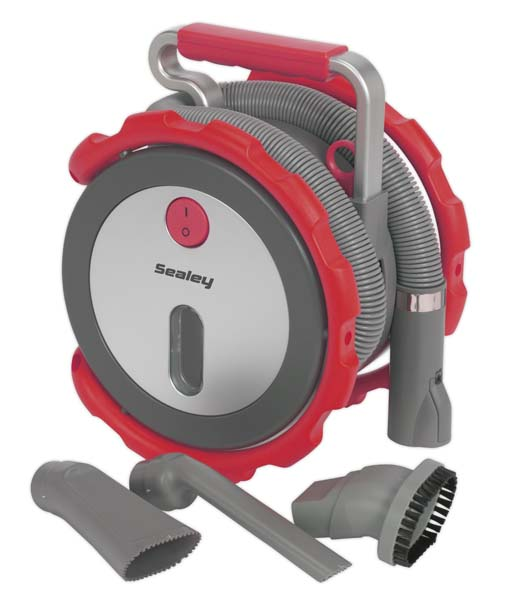 Sealey - CPV100  Car Vacuum Cleaner Wet & Dry 12V