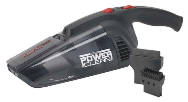 Sealey - CPV72  Vacuum Cleaner Cordless Wet & Dry Rechargeable 7.2V