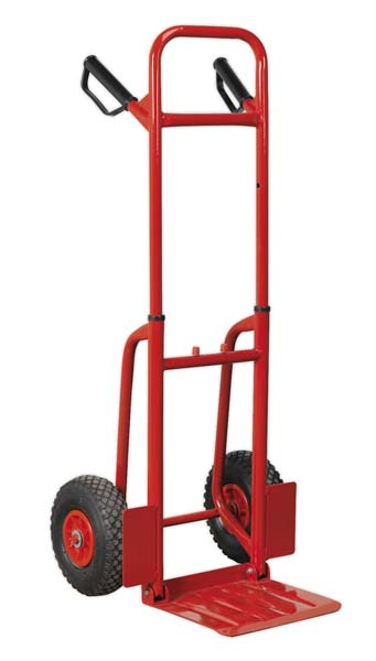 Sealey - CST801  Sack Truck with Pneumatic Tyres 200kg Folding