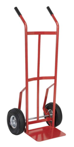 Sealey - CST987  Sack Truck with Pneumatic Tyres 200kg Capacity