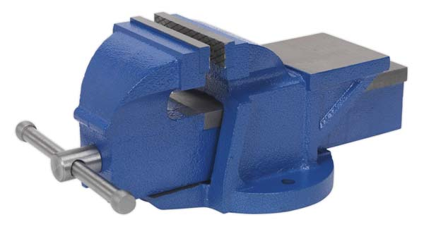 Sealey - CV100XT  Vice 100mm Fixed Base Professional Heavy-Duty