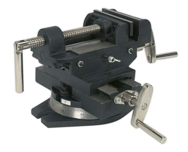 Sealey - CV4  Compound Cross Vice 100mm