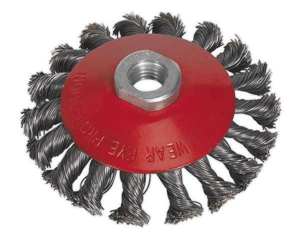 Sealey - CWB101  Conical Wire Brush