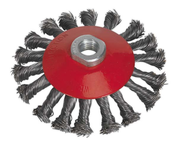 Sealey - CWB115  Conical Wire Brush