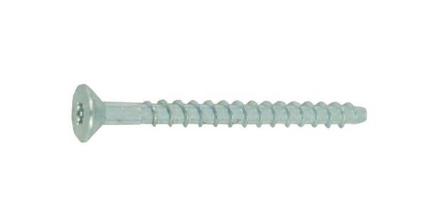JCP 6.0 X 30MM Ankerbolt - Countersunk - Zinc Plated
