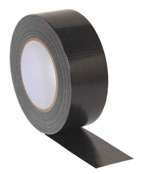 Sealey - DTB  Duct Tape 48mm x 50mtr Black