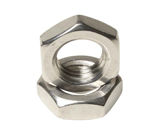 M16 HEX LOCK NUTS A4     DIN 439  **1.5MM PITCH**