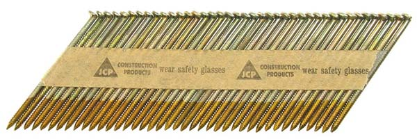 JCP 2.8 x 51mm Drivefast Gas & Nails 'Bright' to suit Paslode IM350 / IM250 Hitachi NR90GC  ***Box Qty: 2200***