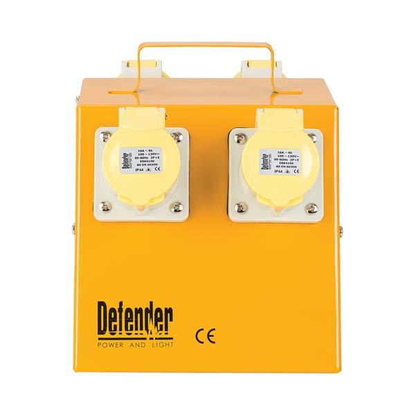 Defender 4 Way Distribution Unit - 4x 16A 110V