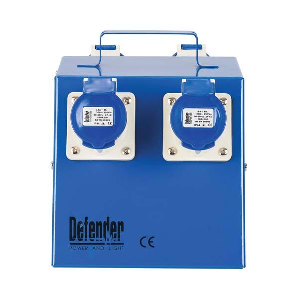 Defender Classic 4 Way Splitter 4x 16A 240V