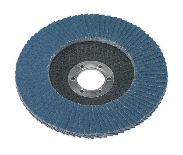Sealey - FD12580  Flap Disc Zirconium