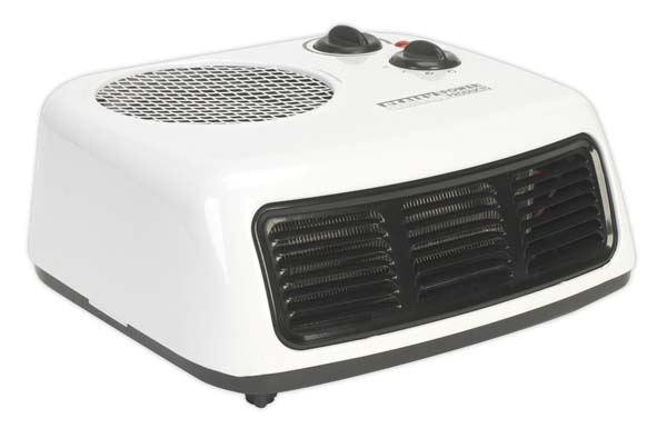 Sealey - FH2009  Fan Heater 2000W/230V 2 Heat Settings & Thermostat