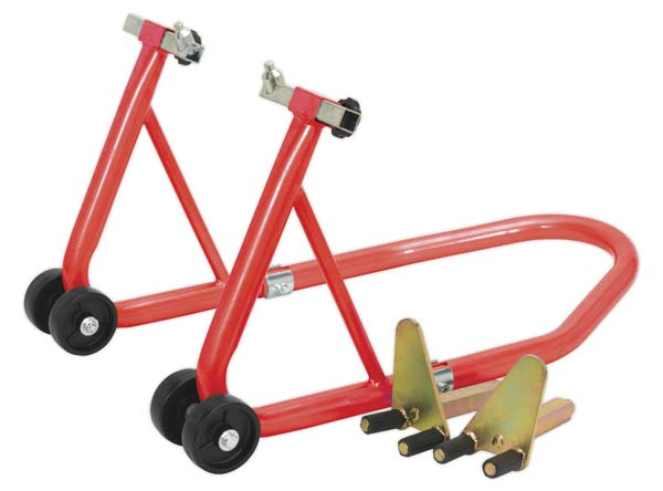 Sealey - FPS2  Universal Front Wheel Stand with Under Fork & Lifting Pin Supports