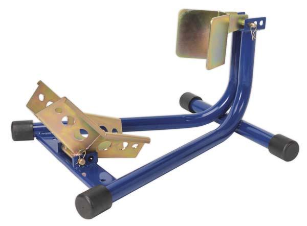 Sealey - FPS7  Motorcycle Front Wheel Chock Heavy-Duty