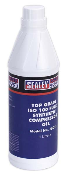 Sealey - FSO1S  Compressor Oil Fully Synthetic 1ltr