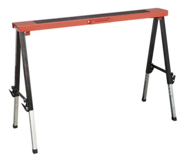 Sealey - FTAL1  Fold Down Trestle Adjustable Legs 150kg Capacity