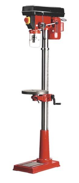 Sealey - GDM140F  Pillar Drill Floor 12-Speed 1530mm Height 370W/230V