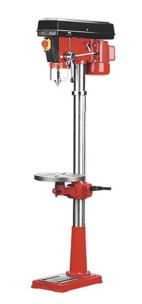 Sealey - GDM160F  Pillar Drill Floor 16-Speed 1580mm Height 550W/230V