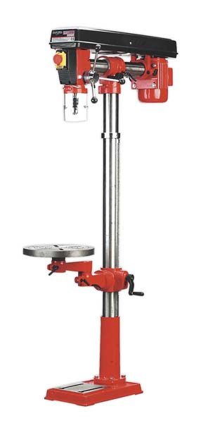 Sealey - GDM1630FR  Radial Pillar Drill Floor 5-Speed 1630mm Height 550W/230V