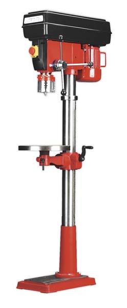 Sealey - GDM200F/VS  Pillar Drill Floor Variable Speed 1630mm Height 650W/230V
