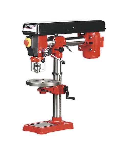 Sealey - GDM790BR  Radial Pillar Drill Bench 5-Speed 790mm Height 550W/230V