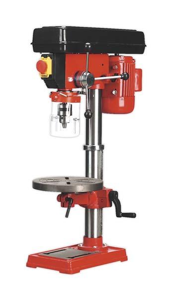 Sealey - GDM92B  Pillar Drill Bench 12-Speed 840mm Height 370W/230V