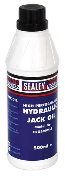 Sealey - HJO500MLS  Hydraulic Jack Oil 500ml