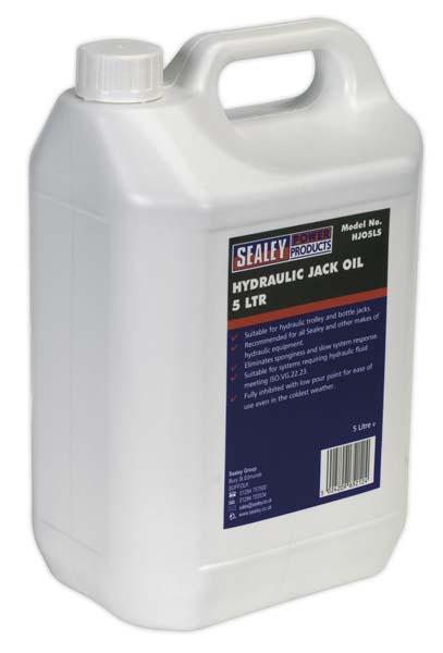 Sealey - HJO5LS  Hydraulic Jack Oil 5ltr