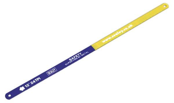 Sealey - HSB0224  Hacksaw Blade 300mm HSS Bi-Metal 24tpi Pack of 2
