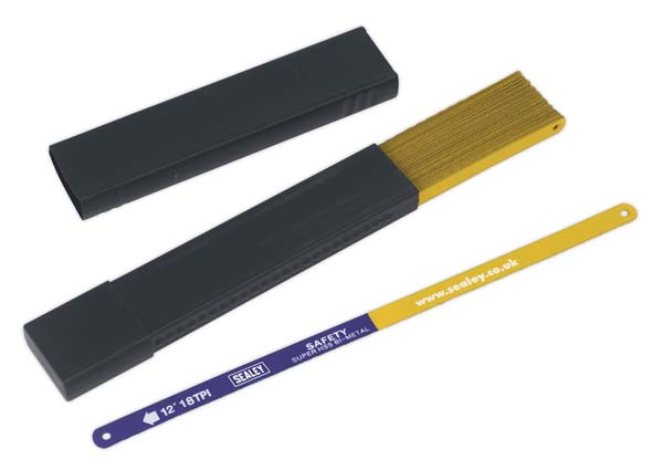 Sealey - HSB5018  Hacksaw Blade 300mm HSS Bi-Metal 18tpi Pack of 50