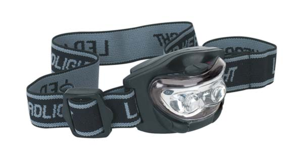 Sealey - HT03LED  Head Torch 3 LED