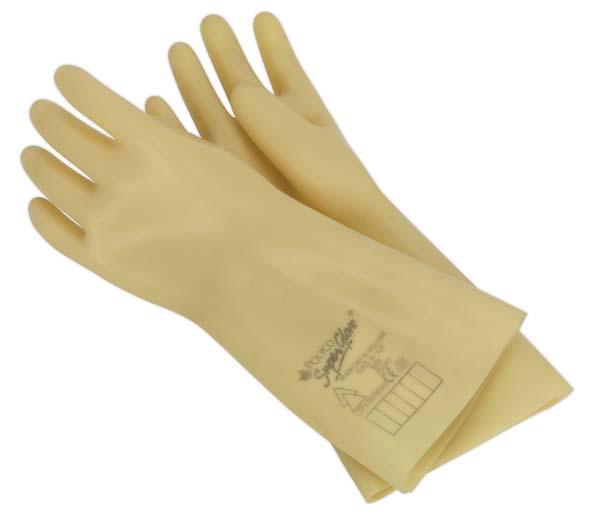 Sealey - HVG1000VL  Electrician's Safety Gloves 1kV