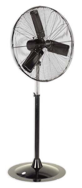 "Sealey - HVSF30  Industrial High Velocity Oscillating Pedestal Fan 30"" 230V"