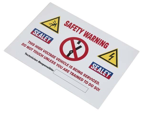 Sealey - HYBRIDSIGN  Hybrid/Electric Vehicle Warning Sign