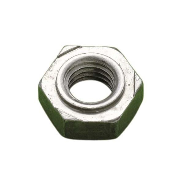 M10 HEXAGON WELD NUT A2     DIN 929