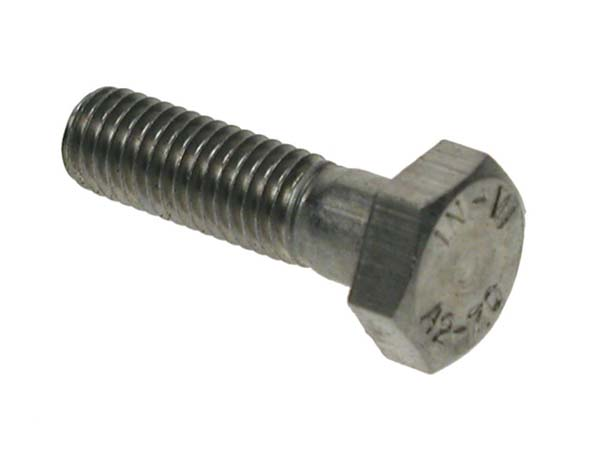 M10 X 100 HEX BOLTS A2     DIN 931