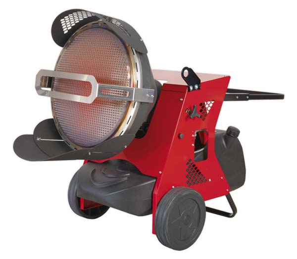 Sealey - IR55  Infrared Paraffin/Kerosene/Diesel Heater 45.5kW 230V