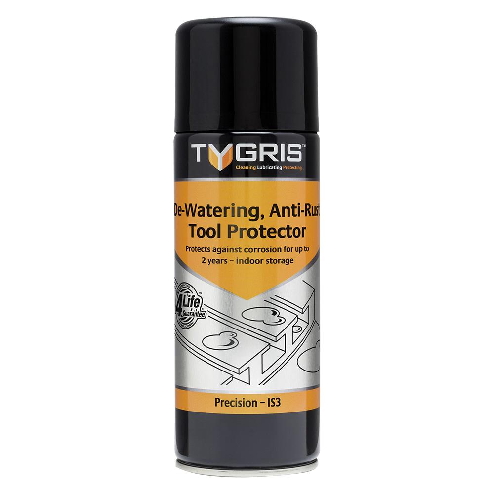 TYGRIS  IS3  De-Watering C291 Anti-Rust Tool Protector  400ml Aerosol