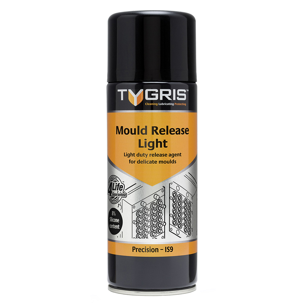 TYGRIS  IS9  Mould Release Light  400ml Aerosol